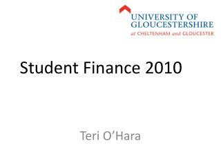 Student Finance 2010