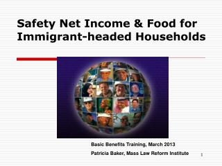 Safety Net Income & Food for Immigrant-headed Households
