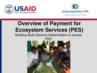 Overview of Payment for Ecosystem Services (PES)