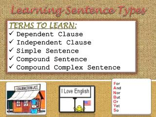 Learning Sentence Types
