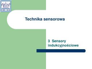 3  Sensory indukcyjnościowe