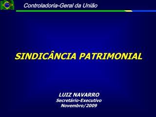 SINDICÂNCIA PATRIMONIAL