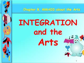 Chapter 8,  MMADD about the Arts