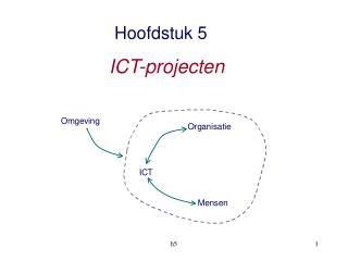 Hoofdstuk 5 ICT-projecten