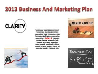 2013 Busines s And Marketing Plan