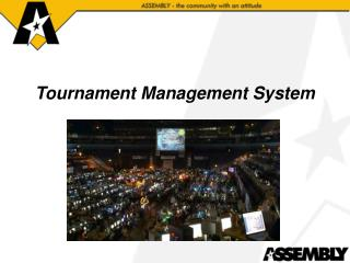 Tournament Management System