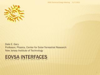 EOVSA  interfaces