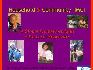 Household  & Community  IMCI