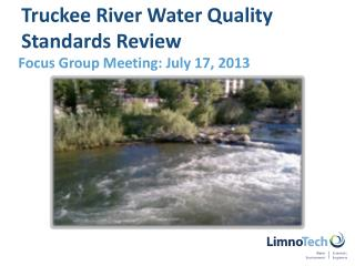 Truckee River Water Quality Standards Review