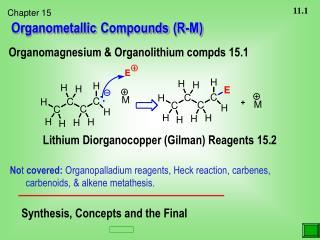Organometallic Compounds (R-M)