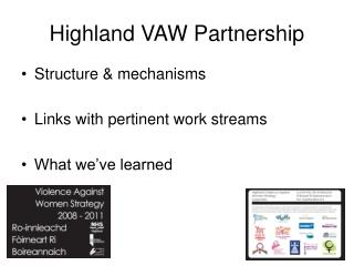 Highland VAW Partnership