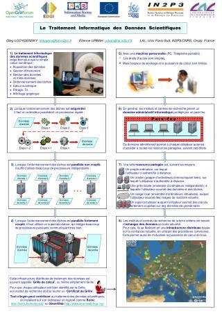 Le  Traitement  Informatique  des  Donn�es  Scientifiques