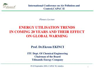 19-23 September 2011, CAPAC II, Antalya