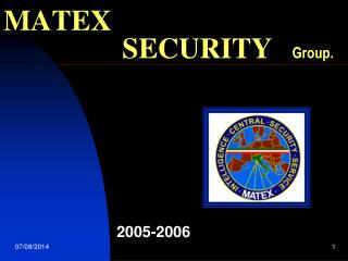 MATEX                   SECURITY Group.