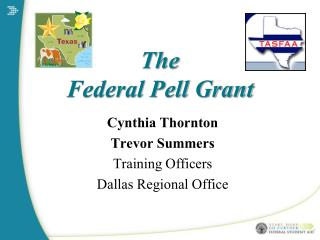 The  Federal Pell Grant