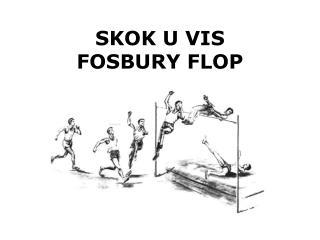 SKOK U VIS FOSBURY FLOP
