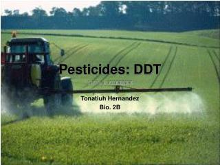 Pesticides: DDT