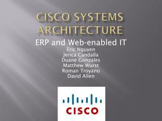 Cisco Systems Architecture