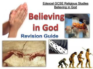 Edexcel  GCSE Religious Studies Believing in God