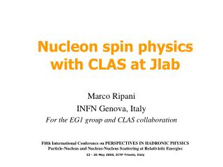 Nucleon spin physics with CLAS at Jlab