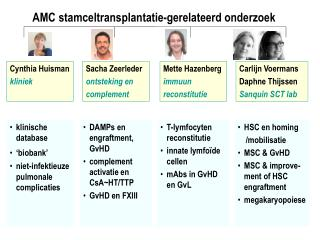 klinische database 'biobank' niet-infektieuze pulmonale complicaties