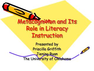 Metacognition and Its Role in Literacy Instruction