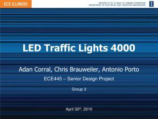 LED Traffic Lights 4000
