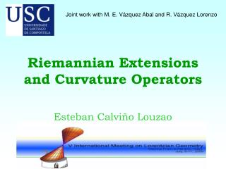 Riemannian Extensions and Curvature Operators