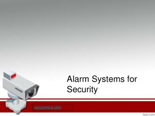 Alarm System for Home-Office
