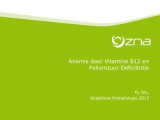 Anemie door Vitamine B12 en  Foliumzuur Deficiëntie
