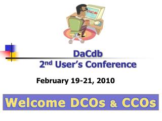 DaCdb  2 nd  User's Conference