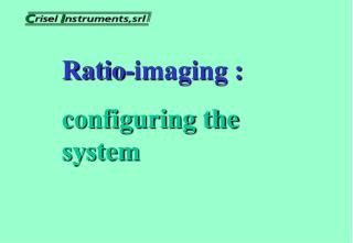 Ratio-imaging : configuring the system