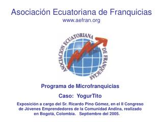 Asociación Ecuatoriana de Franquicias aefran