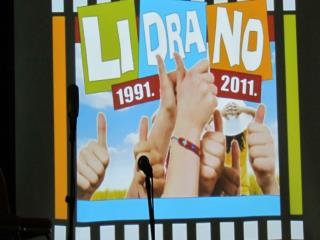 Županijski susret LiDrano 2011.: Dramska družina  – skupni scenski nastup: