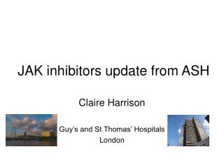 JAK inhibitors update from ASH