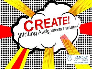 Writing Assignments That Matter