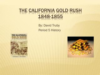 The California Gold Rush 1848-1855