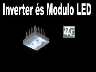 Inverter és Modulo LED