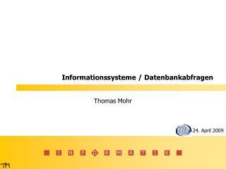 Informationssysteme