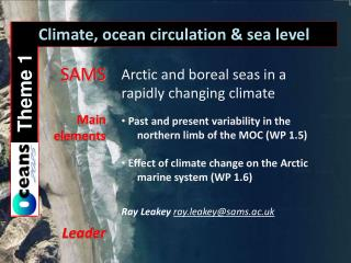 Climate, ocean circulation & sea level