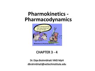 Pharmokinetics - Pharmacodynamics