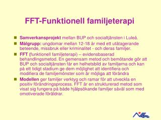 FFT-Funktionell familjeterapi