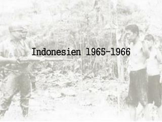 Indonesien 1965-1966
