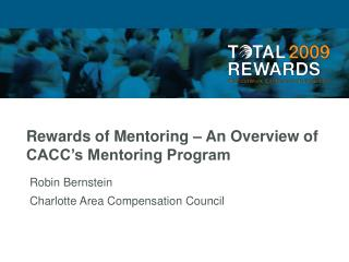 Rewards of Mentoring – An Overview of CACC's Mentoring Program