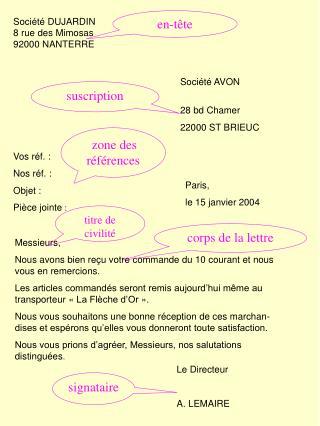 Soci�t� DUJARDIN 8 rue des Mimosas 92000 NANTERRE