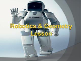 Robotics & Geometry Lesson