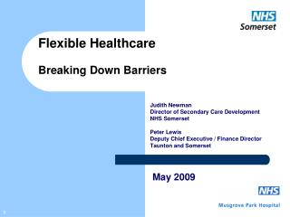 Flexible Healthcare Breaking Down Barriers