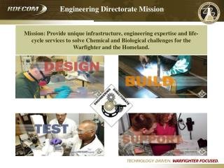 Engineering Directorate Mission