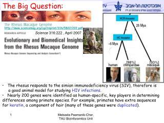 Science  316:222  , April 2007