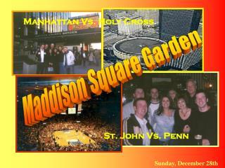 Maddison Square Garden